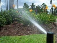 a sprinkler system installed in West Palm Beach